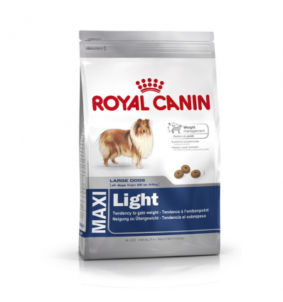 Royal Canin Maxi Light 15kg+3kg GRATIS