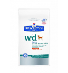 HILL'S Canine W/D Low Fat 12kg