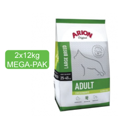 Arion Original Adult Large Chicken&Rice MEGA-PAK 2x12kg