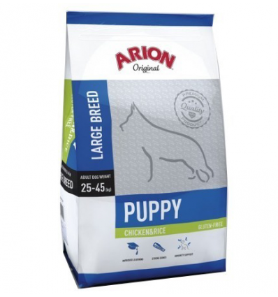 Arion Original Puppy Large Chicken&Rice 12kg + Mata brązowa GRATIS