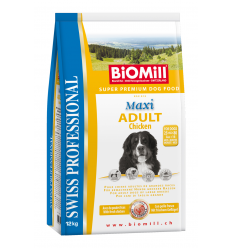 BiOMill  MAXI ADULT Chicken & Rice 3kg