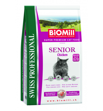 BiOMill SENIOR Chicken & Rice 500g