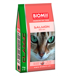 BiOMill CAT CLASSIC AU SAUMON /Salmon 10kg