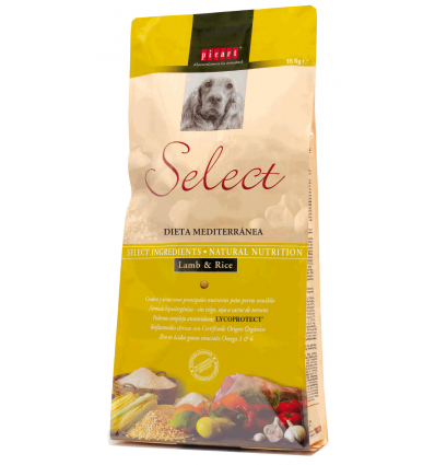 Picart Select Adult Lamb & Rice 15 kg