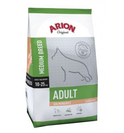 Arion Original Adult Medium Salmon&Rice 2x12kg