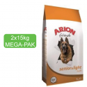 Arion Standard SENIOR LIGHT 22/9 MEGA-PAK 2x15kg