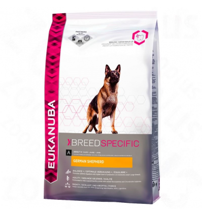 Eukanuba Adult German Breed 12kg + przysmak GRATIS