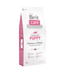 Brit Care Puppy&Junior Salmon&Potato 12kg