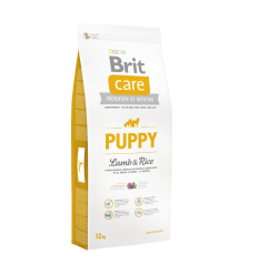 Brit Care Puppy&Junior Lamb&Rice 12kg