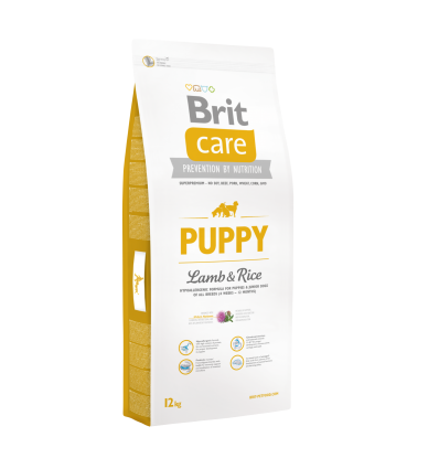Brit Care Puppy&Junior Lamb&Rice