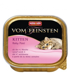 Animonda vom Feinsten Kitten Baby Pate tacka 10x100g